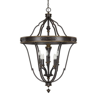 Wyatt 8-Light Foyer Pendant
