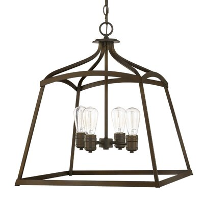 Chesbrough 4-Light Foyer Pendant