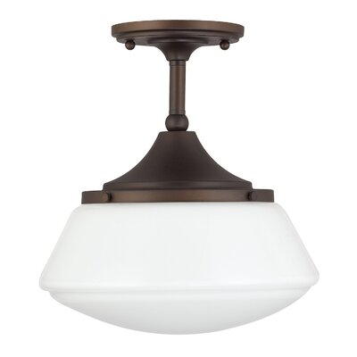 Beverly 1-Light Semi-Flush Mount