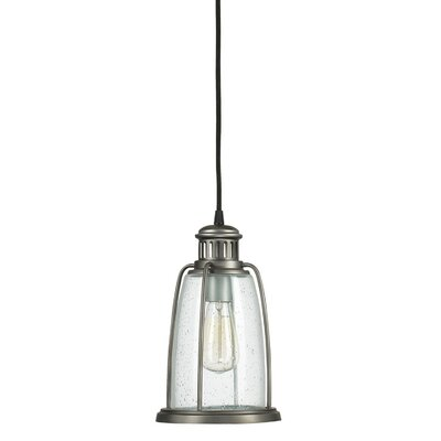 1-Light Outdoor Pendant Finish: Graphite