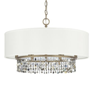 Harper 6-Light Drum Pendant