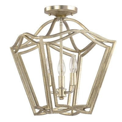 Chesbrough 3-Light Foyer Pendant