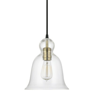 Antioch Mini Pendant Finish: Aged Brass