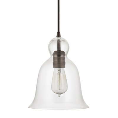 1-Light Mini Pendant Finish: Burnished Bronze