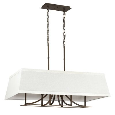 Parker 6-Light Kitchen Island Pendant Finish: Burnished Bronze
