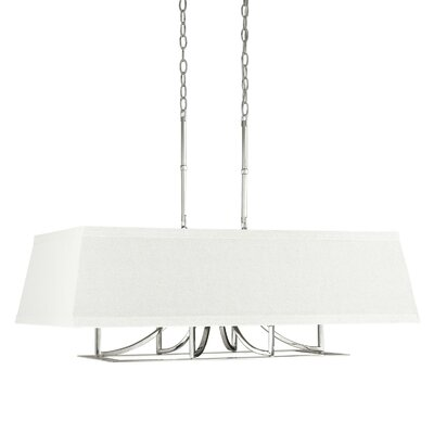 Parker 6-Light Kitchen Island Pendant Finish: Polished Nickel