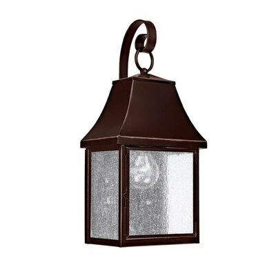 Collins Hill 1-Light Outdoor Wall Lantern Bulb Type: Incandescent