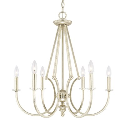 Brentford 6-Light Candle-Style Chandelier