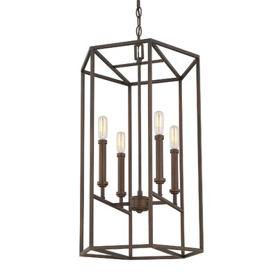 Vista Oro 4-Light Foyer Pendant