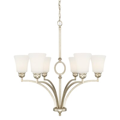 Conklin 6-Light Shaded Chandelier