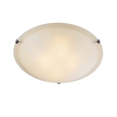Jeffrey Flush Mount Size: 3.75 H x 12 W