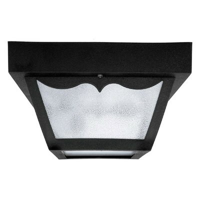 Mackey 2-Light Flush Mount Finish: Black