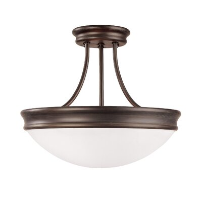 Tenbury 3-Light Semi Flush Mount
