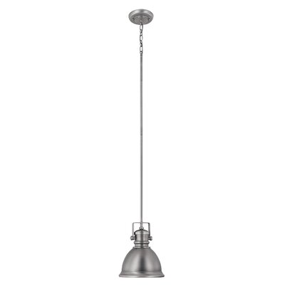 1-Light Mini Pendant Finish: Antique Nickel