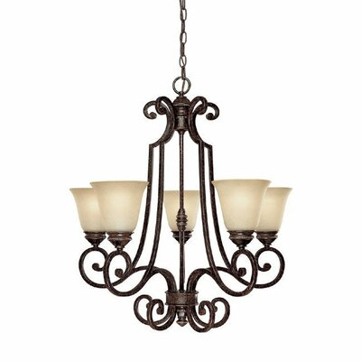 Barclay 5-Light Shaded Chandelier