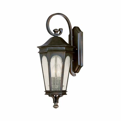 Inman Park Traditional Two Light Outdoor Wall Lantern in Old Bronze