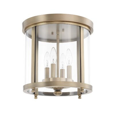 Leigh 4-Light Flush Mount