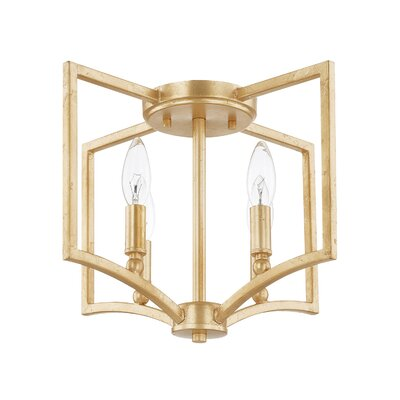 Shelley 4-Light Flush Mount