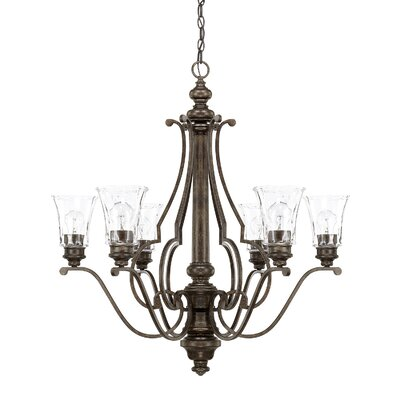 Iris 6 Light Chandelier