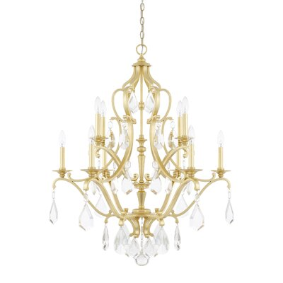 Destrey 10-Light Crystal Chandelier