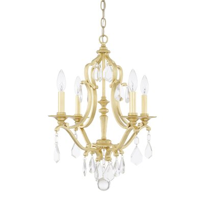 Destrey 4-Light Crystal Chandelier