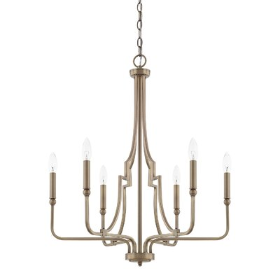 Lynda 6-Light Candle-Style Chandelier