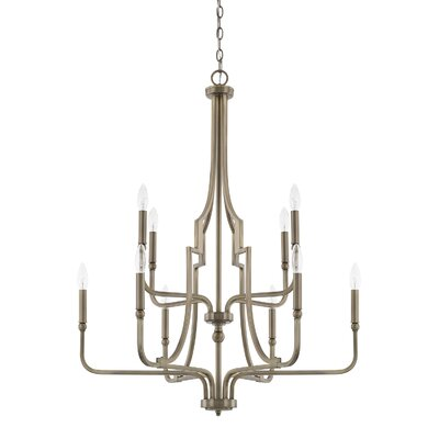 Climsland 10-Light Candle-Style Chandelier