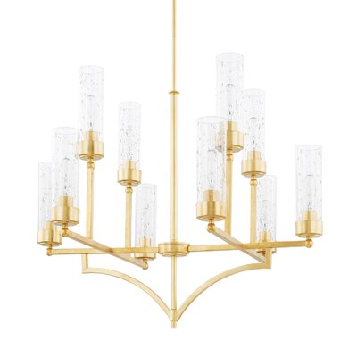 Shelley 10-Light Shaded Chandelier