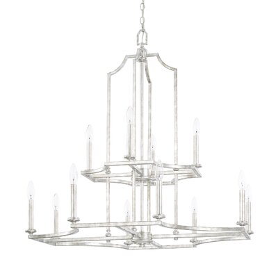Woodbine 12-Light Candle-Style Chandelier