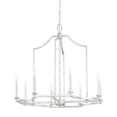 Woodbine 8-Light Candle-Style Chandelier