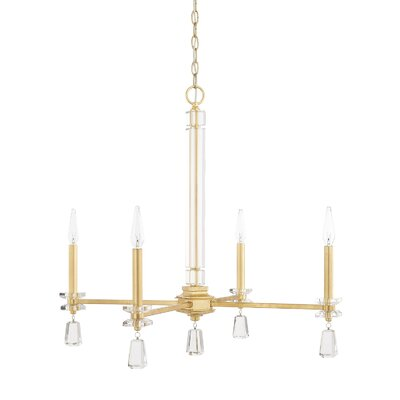 Tera 4-Light Crystal Chandelier