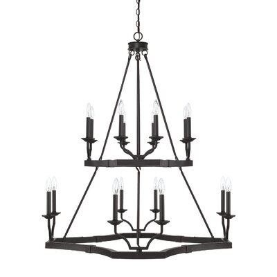 Mcdowell 16-Light Candle-Style Chandelier