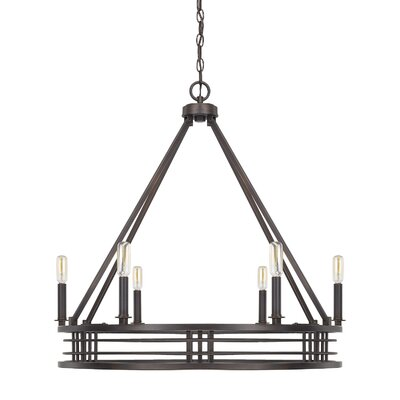 Roulier 6-Light Candle-Style Chandelier