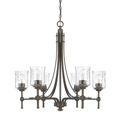 Berns 6-Light Shaded Chandelier