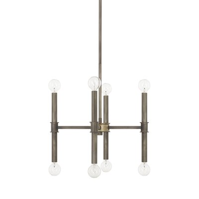 Deller 8-Light Candle-Style Chandelier