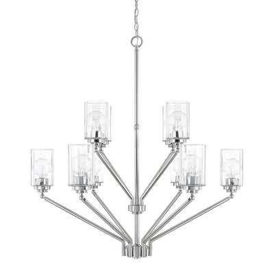 Hague 10-Light Shaded Chandelier