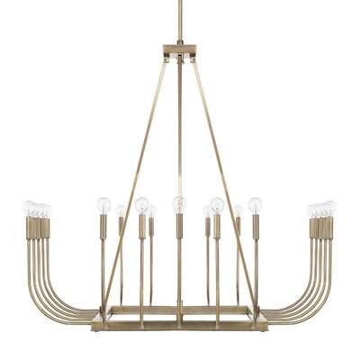 Floyd 20-Light Candle-Style Chandelier