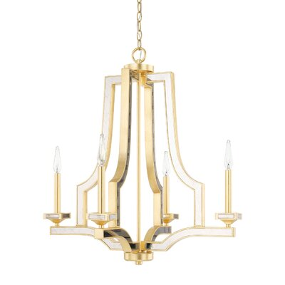 Bobby 4-Light Candle-Style Chandelier