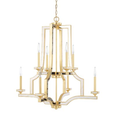 Bobby 8-Light Candle-Style Chandelier