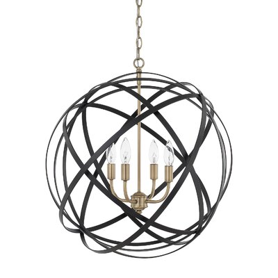 Isai 4-Light Globe Pendant