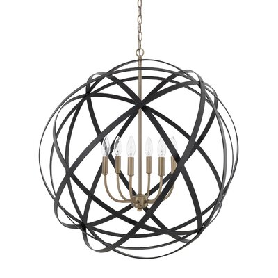 Isai 6-Light Globe Pendant