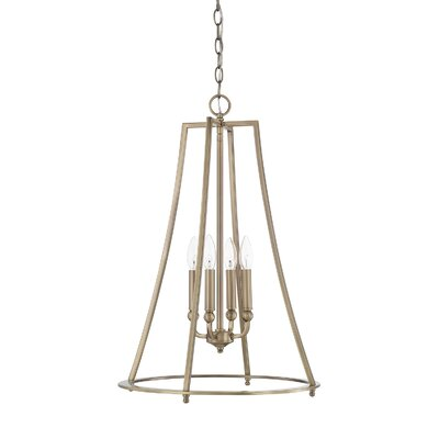 Lynda 4-Light Foyer Pendant