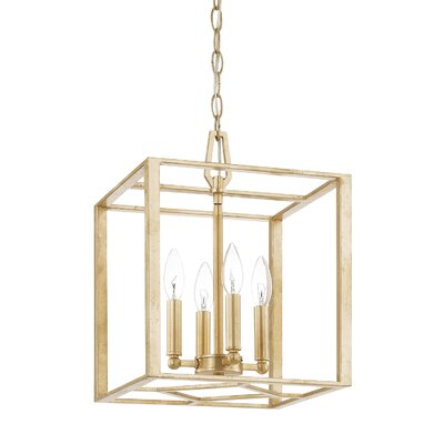 Shelley 4-Light Foyer Pendant