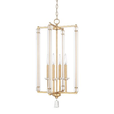Tera 4-Light Foyer Pendant