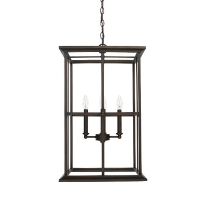 Lipan 4-Light Foyer Pendant Size: 26.5 H x 16 W x 16 D