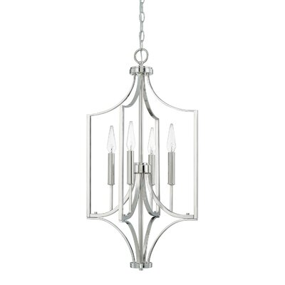Yvette 4-Light Foyer Pendant
