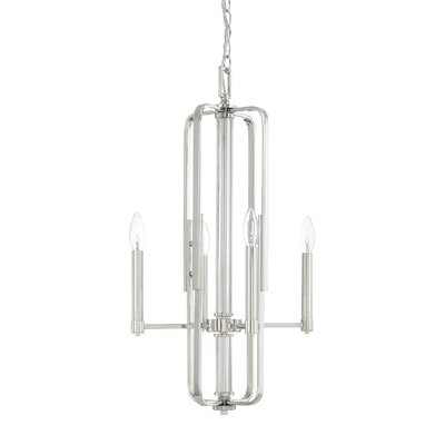 Willie 4-Light Foyer Pendant