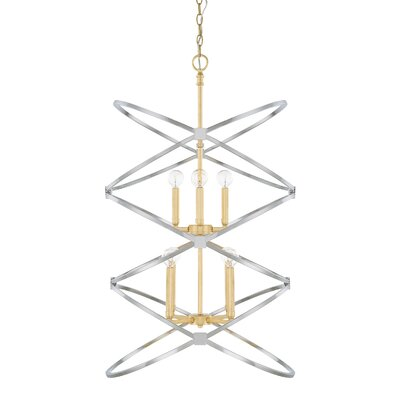 Garret 8-Light Foyer Pendant