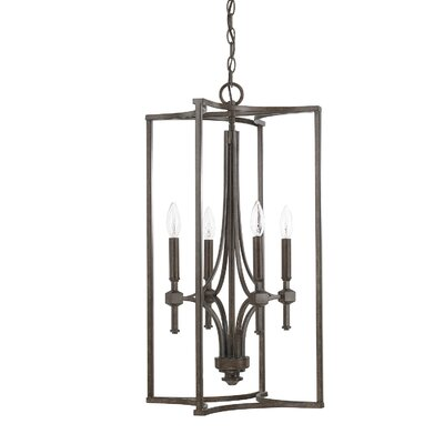 Berns 4-Light Foyer Pendant