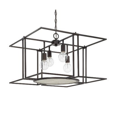 Rasheed 4-Light Foyer Pendant